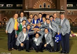 Europe Ryder team